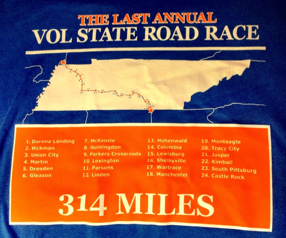 The Running Hacker: Vol State Vignettes