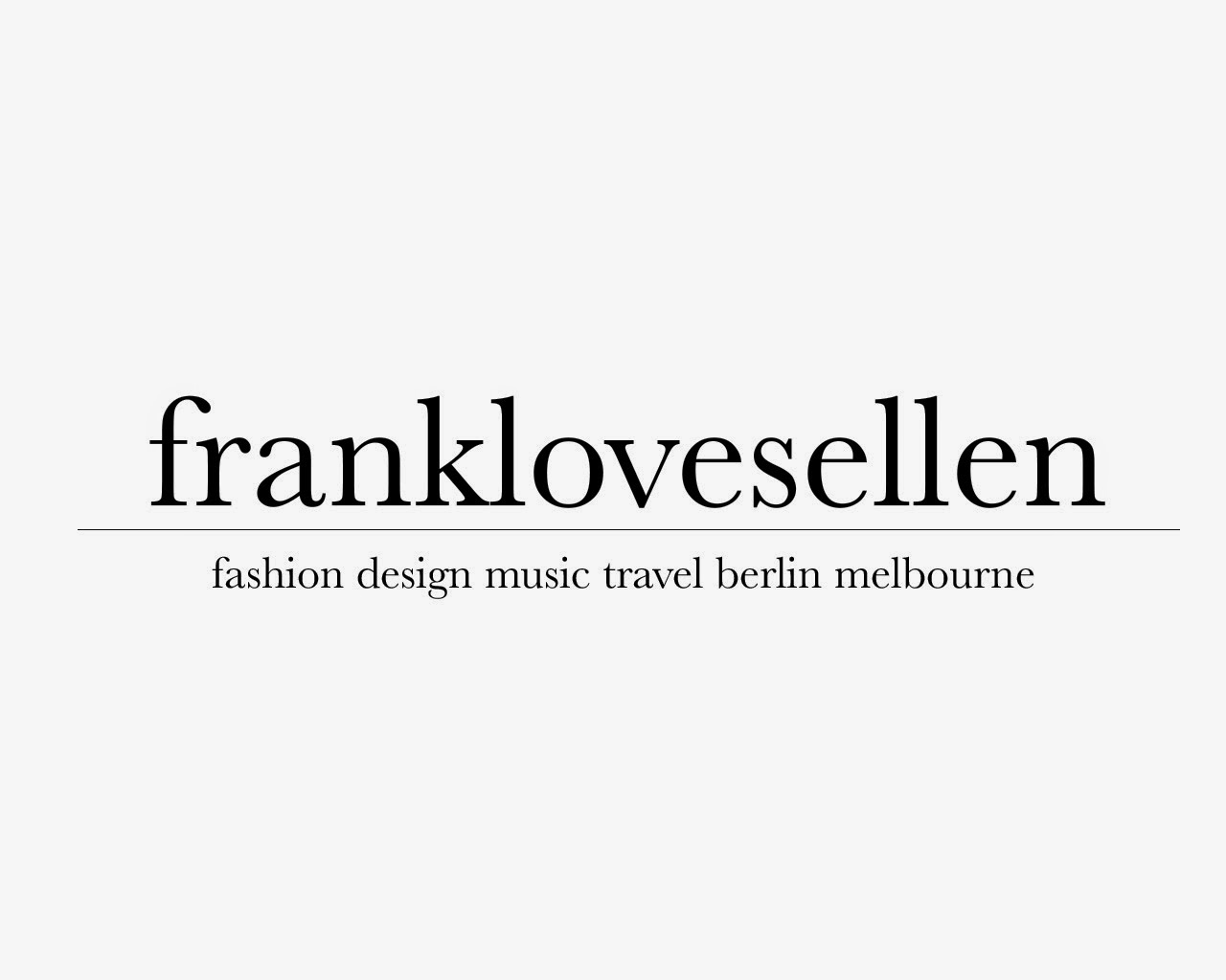 frank loves ellen