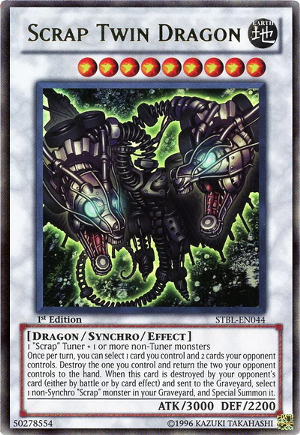Scrap Twin Dragon Yugioh