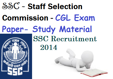 Ssc cgl study material