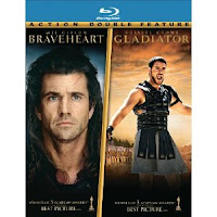 Get the Braveheart and Gladiator Two-Pack on Blu-ray for $13.99!