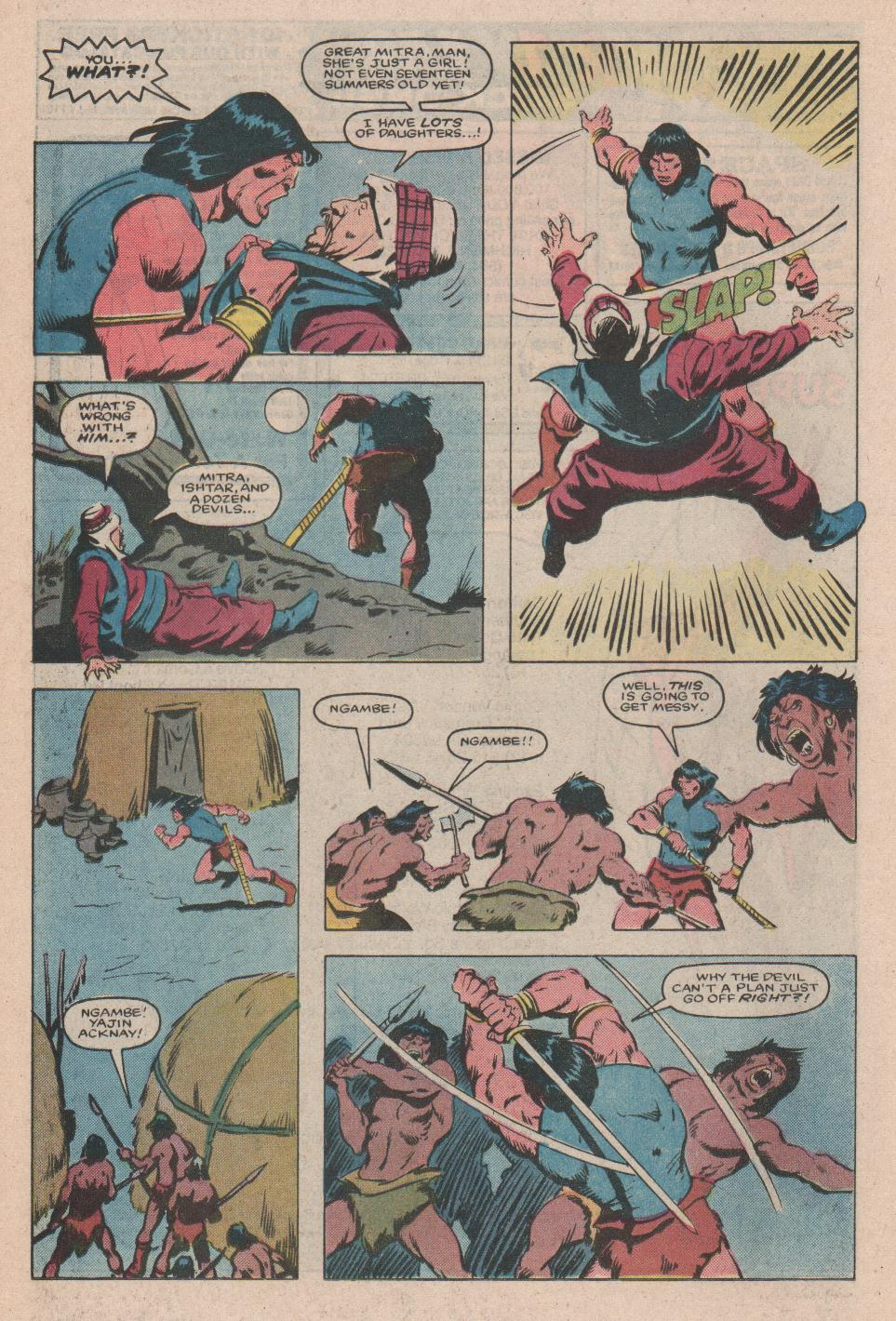 Conan the Barbarian (1970) Issue #172 #184 - English 19
