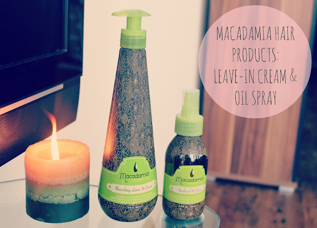 Macadamia Natural Oil Hair Products-Macadamia Nourishing Leave-in Cream-Macadamia Healing Oil Spray-UK beauty blog-Couture Girl Blogspot-Beauty Blogger