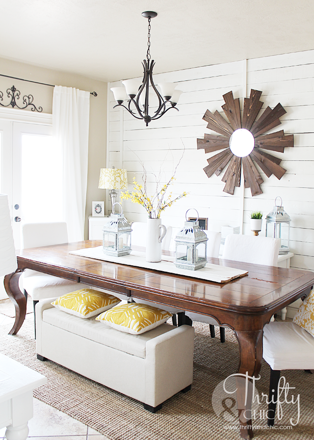Farmhouse dining room decorating ideas