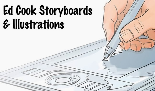Ed Cook Storyboards and Illustration