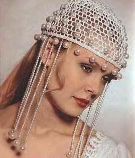 Uncinetto Doro Cappello Da Sposa