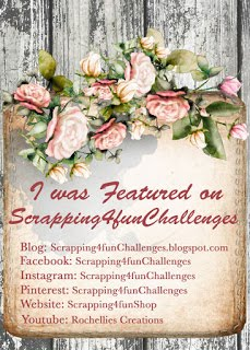 Featured Creation #138 Scrapping4funchallenges