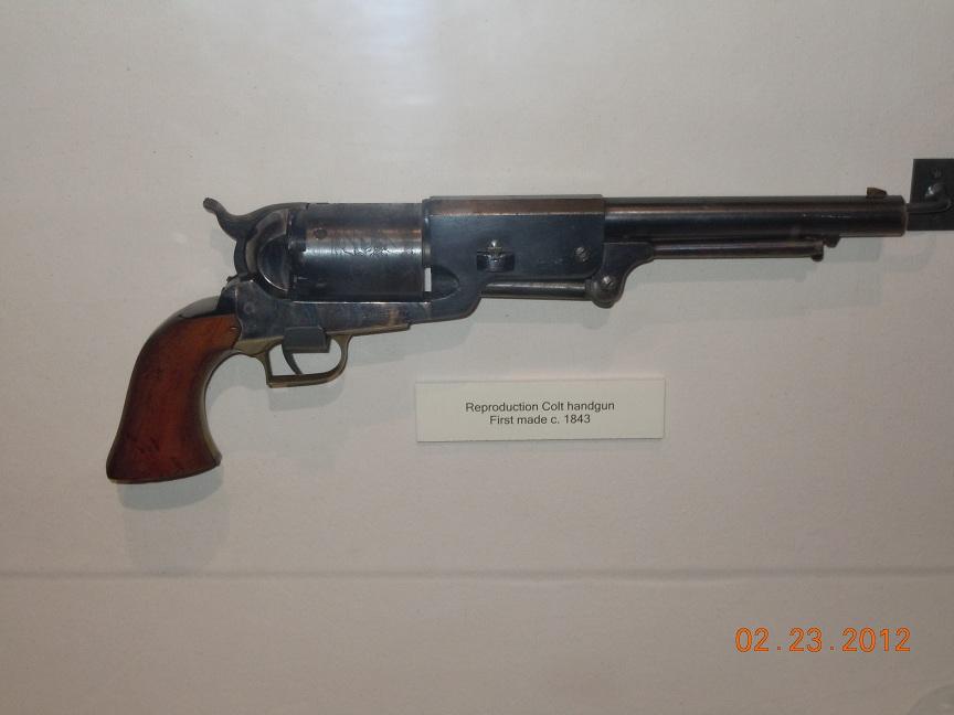1836 Colt Revolver 1843 Colt Revolver