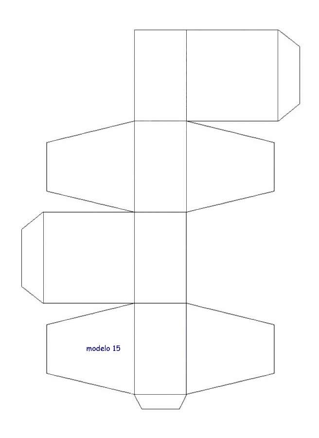 APRENDIENDO Y CREANDO: moldes de cajas