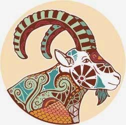 Logo zodiak bintang capricorn
