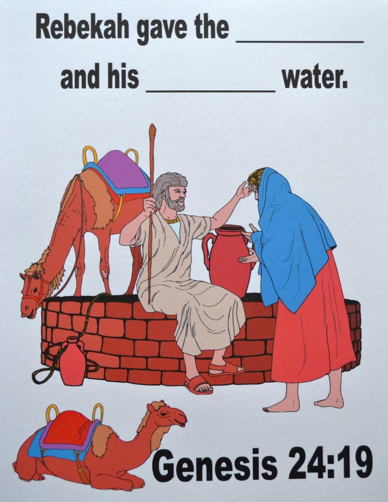 bible fun for kids genesis isaac u0026 rebekah