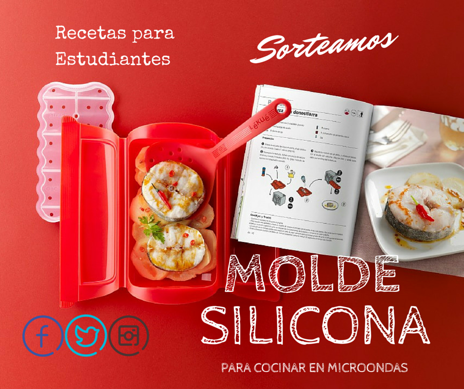 Recetas para estudiantes sorteo de un molde de silicona for Cocinar en microondas