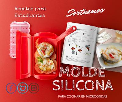 Sorteo de molde de silicona para cocinar en el microondas - Cocinar en el microondas ...
