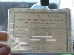 Cédula de Identificacion fiscal