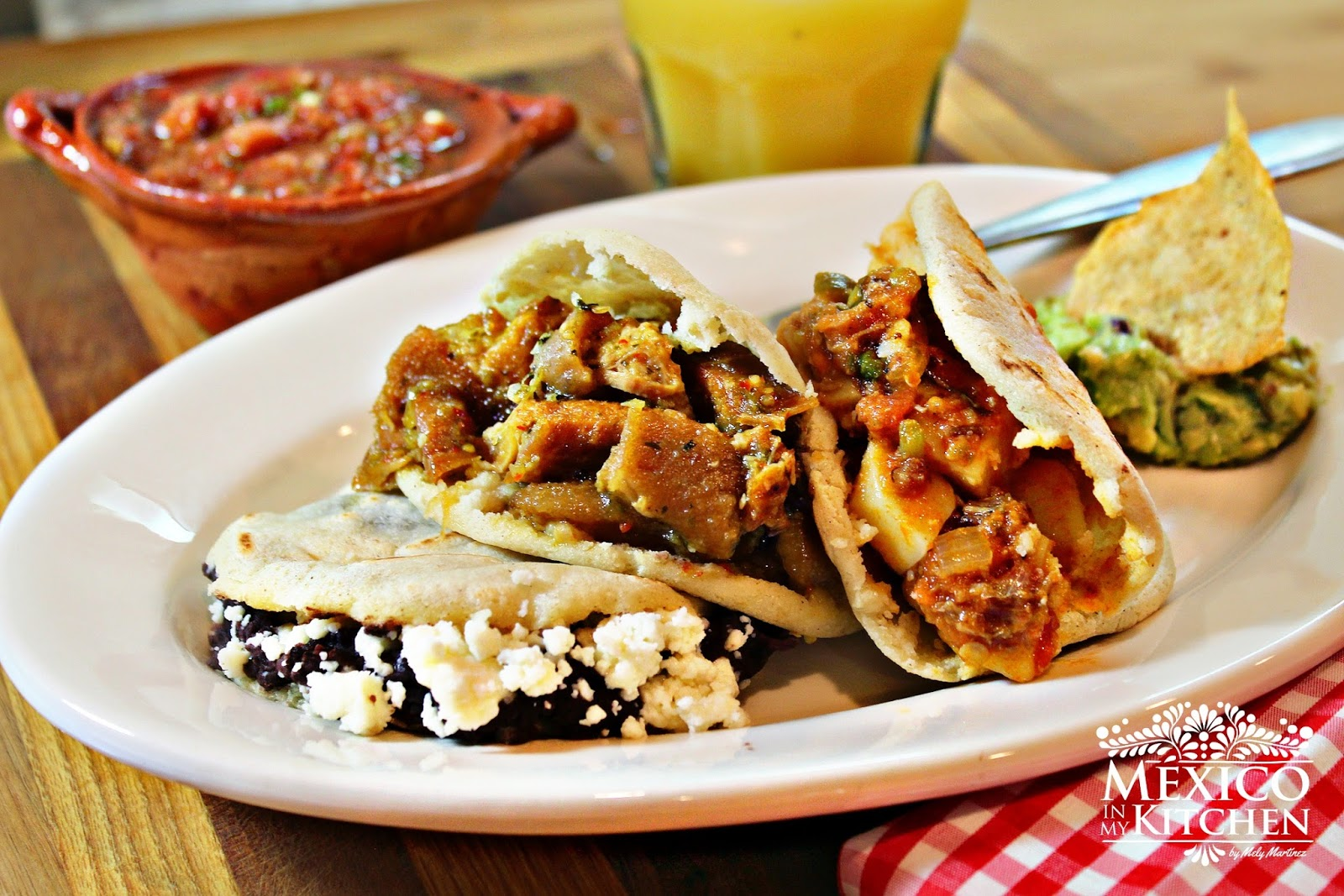 Mexico in My Kitchen: How to make gorditas |Authentic Mexican Food ...