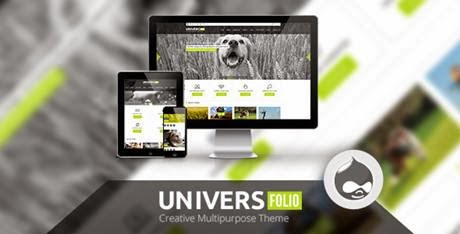 Universefolio – Themeforest Multipurpose Drupal Theme