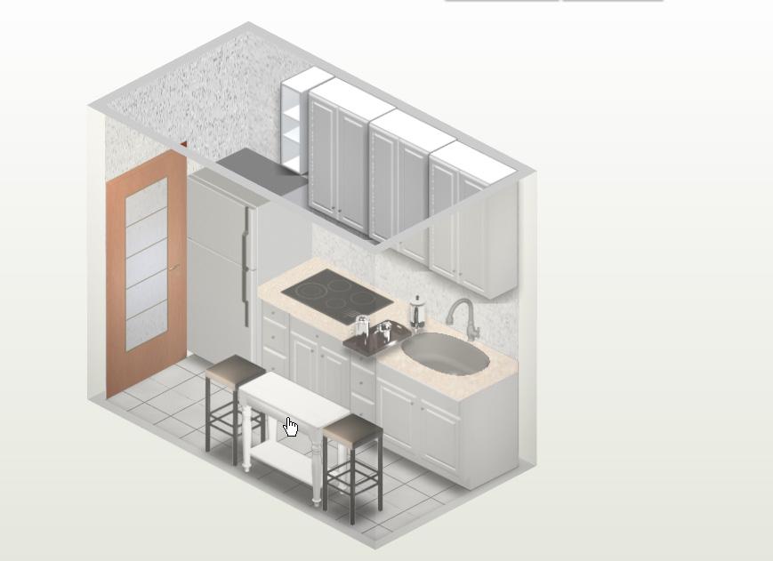Crea nuevos interiores cocinas peque as for Cocinas muy pequenas y alargadas