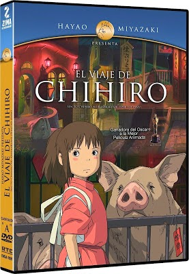 Spirited Away (2001) 720p BDRip MULTI Espa�ol Latino-Castellano-Ingl�s-Japon�s