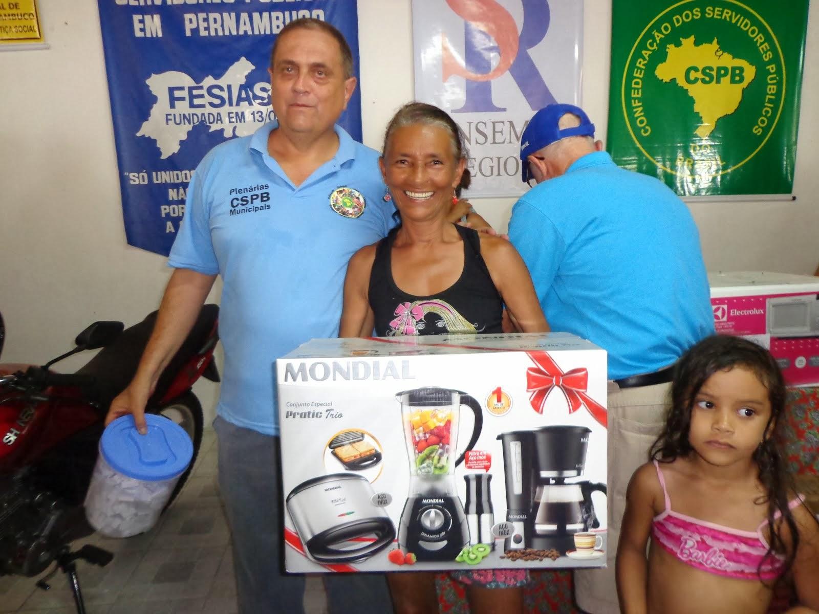 GANHADOR 10º PRÊMIO FESTA DO SERVIDO EM 2013