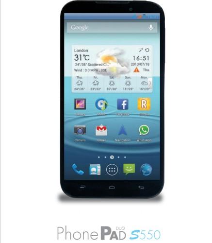 Nuovo Phablet quad core android da 5,5 pollici Mediacom in arrivo con fotocamera posteriore da 13 mega pixel