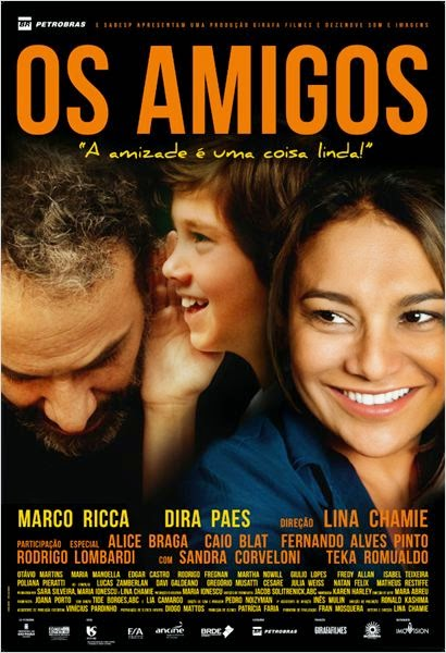 """Poster do filme """"Os Amigos"""""""