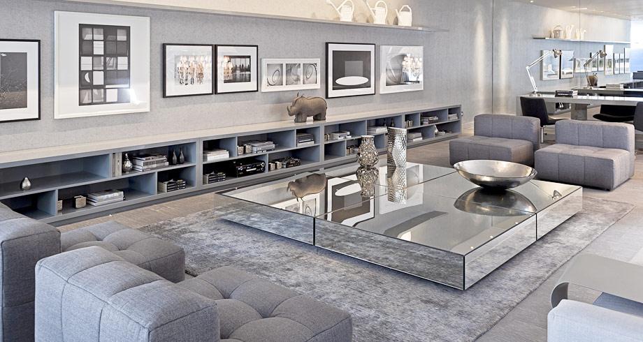 Construindo minha casa clean mesas de centro e de canto - Mesas de centro modernas para sala ...