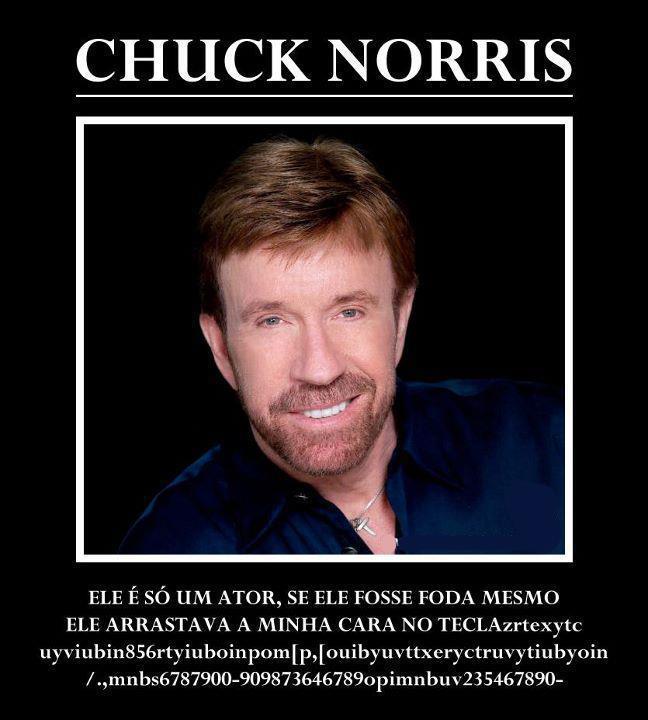 Chuck Norris não é tudo isso que dizem