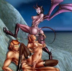 My Friend Loki and The Succubus Sisters