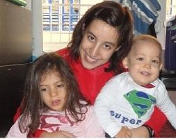 Sara & Mummy & Simão