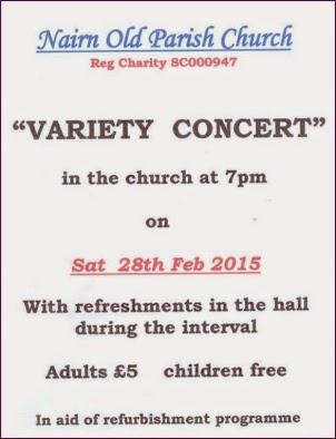 Variety Concert Sat 28th