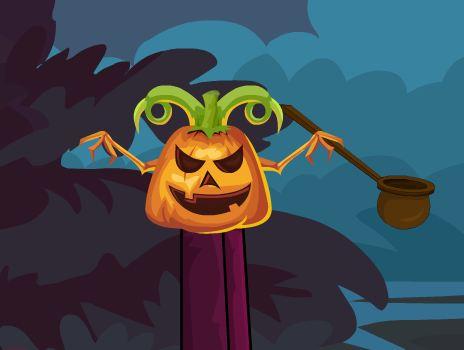 Halloween Jack-O-Lantern …