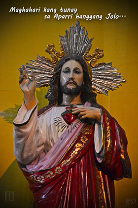MOST SACRED HEART OF JESUS, <br>Thy Kingdom come!