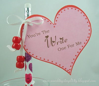 Write For Me Printable Heart