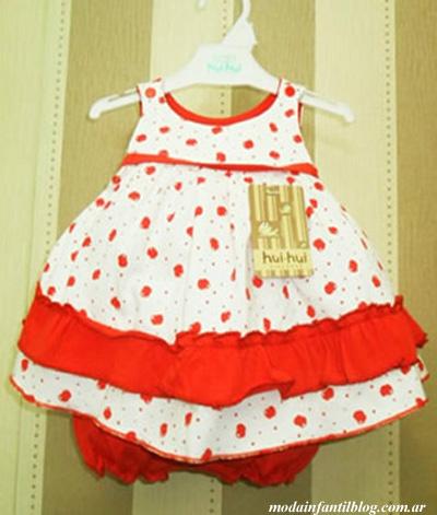vestidos bebas primavera verano 2014 hui hui