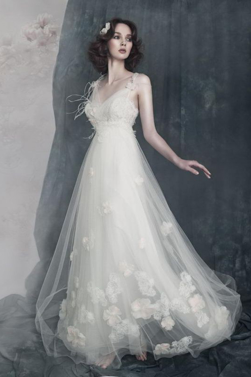 Wedding Dresses  With Straps : Dressybridal trend alert wedding dresses with illusion