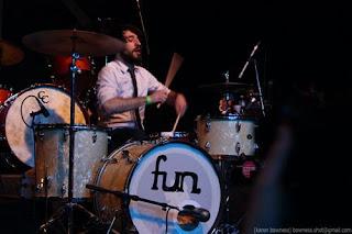 fun band drummer