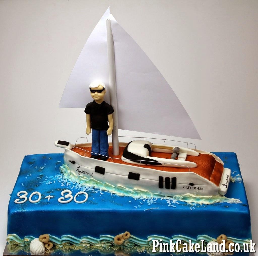 Sailing Birthday Cake, London