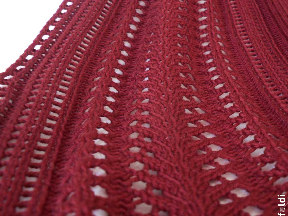 Knitting Machine Scarf Pattern : foldi: Braid Scarf