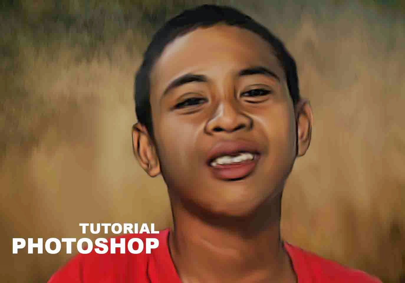 Tutorial Photoshop Smudge Painting Mudah