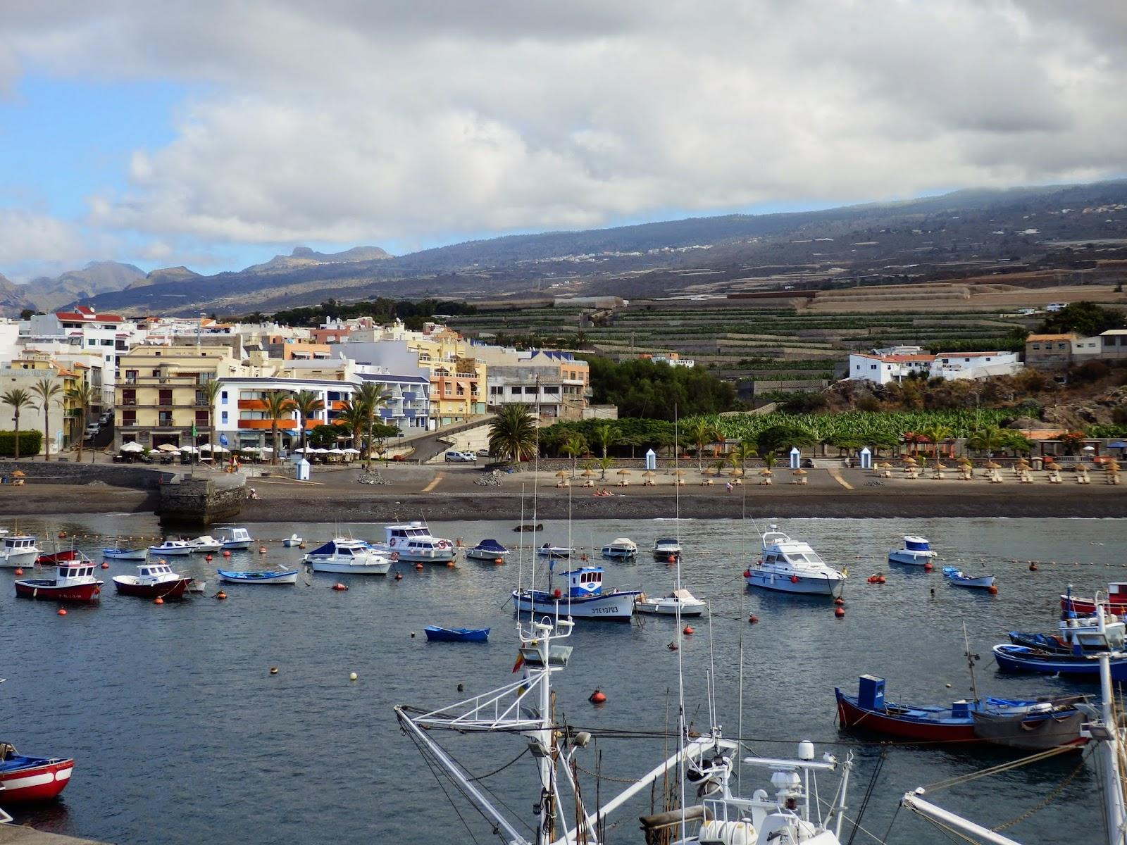 San Juan harbour, Tenerife