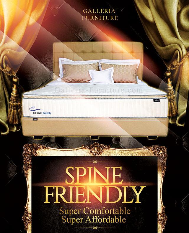 Zees Spine Friendly -Springbed Bagus Harga Murah -Diskon