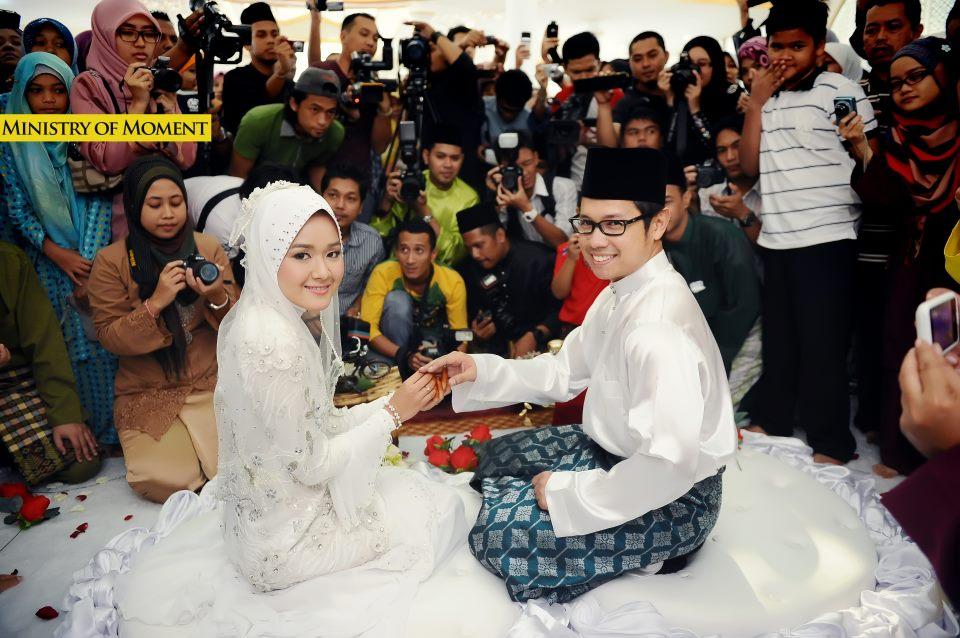 Gambar | Saat-Saat Terindah Perkahwinan Farah Lee Dengan Ally Iskandar