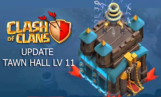 Download Update COC Clash Of Clans Rilis TH 11 Town Hall cover