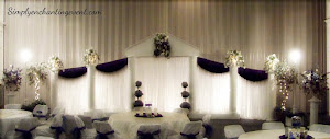 Roman Wedding Backdrop