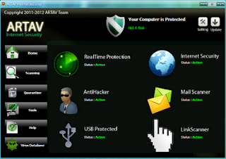 Download AntiVirus ARTAV Internet Security 2011 Versi 2.5