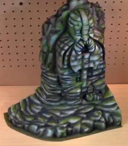 Como construir una estatua de piedra