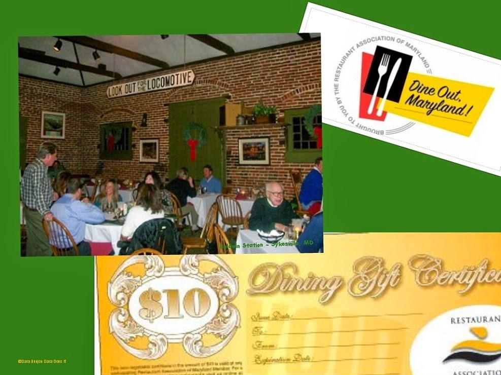 Dining Dish: Restaurant Association of Maryland gift certificates ...