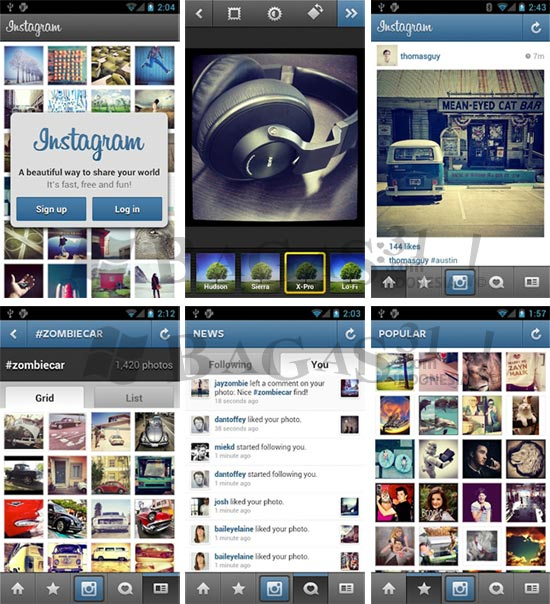 Instagram for Android 2