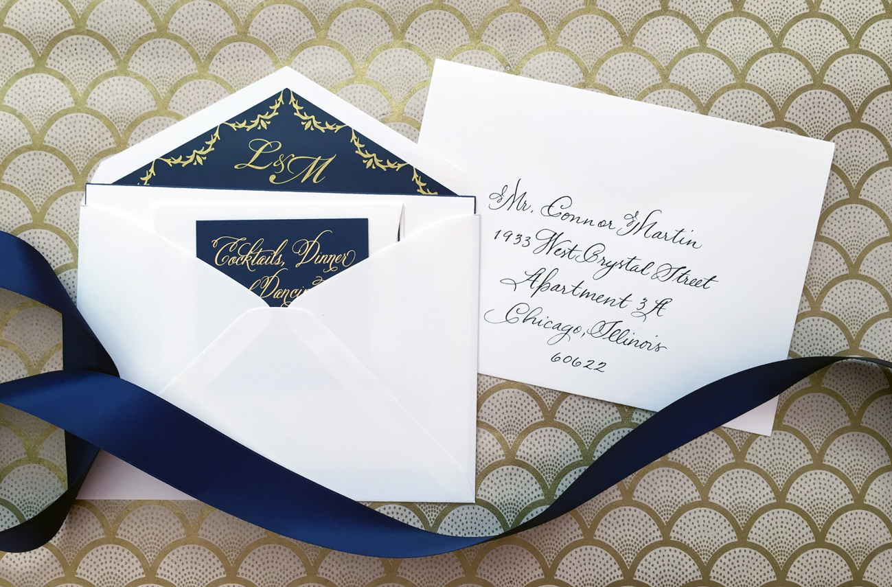 Wedding Invitation Double Envelope