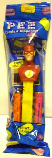 Flash bust PEZ still in package